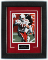 Pat Tillman Signed Cardinals 15.5x19.5 Custom Framed Photo Display (JSA ALOA) at PristineAuction.com