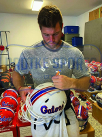Tim Tebow Signed Florida Gators Full-Size Authentic On-Field Speed Helmet (Radtke COA) at PristineAuction.com