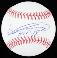 "Vladimir Guerrero Signed OML Baseball Inscribed ""HOF 18"" (JSA Hologram) at PristineAuction.com"