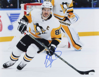 Sidney Crosby Signed Penguins 11x14 Photo (JSA COA) at PristineAuction.com