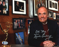 """Dick Enberg Signed 8x10 Photo Inscribed """"Oh My!"""" (Beckett COA) at PristineAuction.com"""