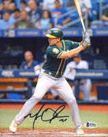 Matt Olson Signed Athletics 8x10 Photo (Beckett COA) at PristineAuction.com