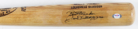 "Joe DiMaggio Signed Louisville Slugger Baseball Bat Inscribed ""Best Wishes"" (PSA LOA) at PristineAuction.com"
