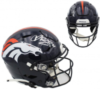 Champ Bailey Signed Broncos Full-Size Authentic On-Field SpeedFlex Helmet (Radtke COA) at PristineAuction.com