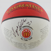 Dominique Wilkins Signed McDonald's 35th Anniversary All-American Game Basketball (PSA LOA) at PristineAuction.com
