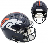 Peyton Manning Signed Broncos Full-Size Authentic On-Field SpeedFlex Helmet (Fanatics Hologram) at PristineAuction.com