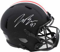 Joey Bosa Signed Ohio State Buckeyes Full-Size Authentic On-Field Eclipse Alternate Speed Helmet (Beckett COA) at PristineAuction.com