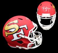 Steve Young Signed 49ers Full-Size AMP Alternate Speed Helmet (Radtke COA) at PristineAuction.com