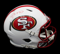 Joe Montana Signed 49ers Full-Size Authentic On-Field Matte White Speed Helmet (Radtke COA) at PristineAuction.com