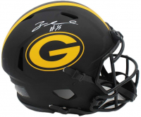 Za'Darius Smith Signed Packers Full-Size Authentic On-Field Eclipse Alternate Speed Helmet (Radtke COA) at PristineAuction.com