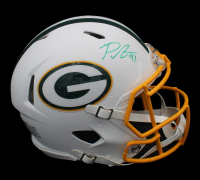 Preston Smith Signed Packers Full-Size Authentic On-Field Matte White Speed Helmet (Radtke COA) at PristineAuction.com