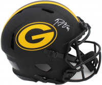 Preston Smith Signed Packers Full-Size Authentic On-Field Eclipse Alternate Speed Helmet (Radtke COA) at PristineAuction.com