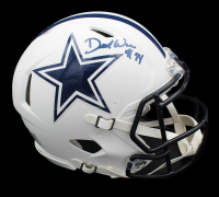DeMarcus Ware Signed Cowboys Full-Size Authentic On-Field Matte White Speed Helmet (Beckett COA) at PristineAuction.com