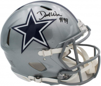 DeMarcus Ware Signed Cowboys Full-Size Authentic On-Field Speed Helmet (Beckett COA) at PristineAuction.com
