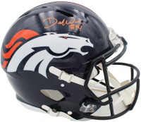 DeMarcus Ware Signed Broncos Full-Size Authentic On-Field Speed Helmet (Beckett COA) at PristineAuction.com