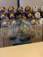 "Doug Williams Signed Redskins Full-Size Eclipse Alternate Speed Helmet Inscribed ""SB XXII MVP"" (Radtke COA) at PristineAuction.com"