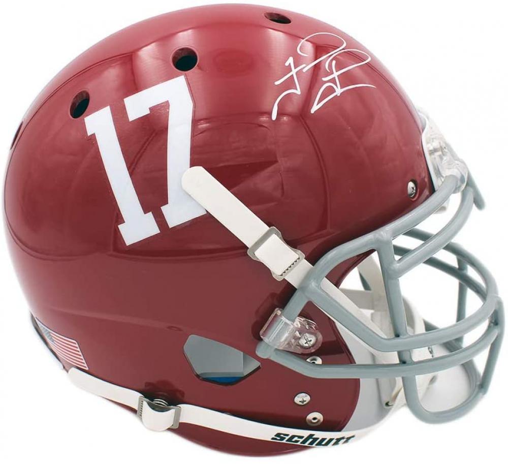 Tua Tagovailoa Signed Alabama Crimson Tide Full-Size Authentic On-Field Helmet (Fanatics Hologram) at PristineAuction.com
