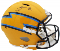 Antonio Gates Signed Chargers Full-Size AMP Alternate Speed Helmet (Radtke COA) at PristineAuction.com