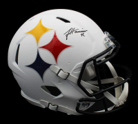 James Harrison Signed Steelers Full-Size Authentic On-Field AMP Alternate Speed Helmet (Radtke COA) at PristineAuction.com