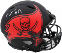 Keyshawn Johnson Signed Buccaneers Full-Size Authentic On-Field Eclipse Alternate Speed Helmet (Radtke COA) at PristineAuction.com
