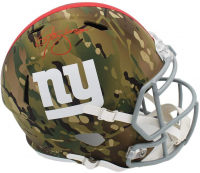 Lawrence Taylor Signed Giants Full-Size Camo Alternate Speed Helmet (Radtke COA) at PristineAuction.com