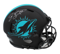 Jason Taylor Signed Dolphins Full-Size Authentic On-Field Eclipse Alternate Speed Helmet (Radtke COA) at PristineAuction.com