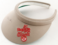 Christie Whitman Signed Shoprite LPGA Classic Golf Visor (JSA COA) at PristineAuction.com