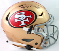 Joe Montana Signed 49ers Full-Size Authentic On-Field SpeedFlex Helmet (JSA COA) at PristineAuction.com