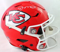 Joe Montana Signed Chiefs Full-Size Authentic On-Field SpeedFlex Helmet (JSA COA) at PristineAuction.com