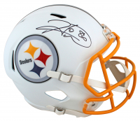 Hines Ward Signed Steelers Full-Size Matte White Speed Helmet (Beckett COA) at PristineAuction.com