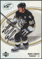 Mario Lemieux Signed 2005-06 Upper Deck Ice #76 (JSA COA)} at PristineAuction.com