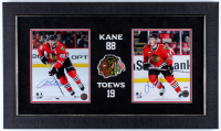 Patrick Kane & Jonathan Toews Signed Blackhawks 17.5x30 Custom Framed Photo Display (Beckett COA & PSA COA) at PristineAuction.com