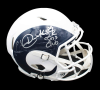 "Eric Dickerson Signed Rams Full-Size Authentic On-Field AMP Alternate Speed Helmet Inscribed ""2k Yds Club"" (Radtke COA) at PristineAuction.com"