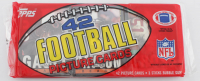 1985 Topps Unopened Football Rack Pack with (42) Cards & (3) Sticks of Gum at PristineAuction.com