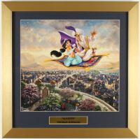 "Thomas Kinkade ""Aladdin"" 16x16 Custom Framed Print Display at PristineAuction.com"