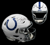 Dwight Freeney Signed Colts Full-Size Authentic On-Field SpeedFlex Helmet (Radtke COA) at PristineAuction.com
