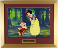"Walt Disney's LE ""Snow White & the Seven Dwarfs"" 15x18 Custom Framed Animation Cel Display at PristineAuction.com"