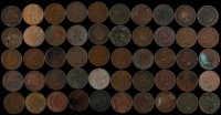 Lot of (50) Indian Head One Cents at PristineAuction.com