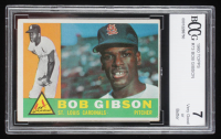 Bob Gibson 1960 Topps #73 (BCCG 7) at PristineAuction.com