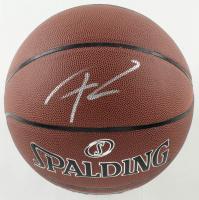 Giannis Antetokounmpo Signed NBA Logo Basketball (JSA COA) at PristineAuction.com