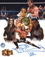"Shawn Michaels Signed WWE 8x10 Photo Inscribed ""HBK"" (Pro Player Hologram) at PristineAuction.com"