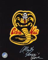"Martin Kove Signed ""Kobra Kai"" 8x10 Photo Inscribed ""Sensei"" (Pro Player Hologram) at PristineAuction.com"