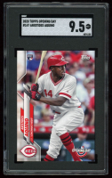 Aristides Aquino 2020 Topps Opening Day #147 RC (SGC 9.5) at PristineAuction.com
