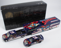 Dale Earnhardt Jr. Signed LE #3 Superman / ACDelco Chevrolet 1:24 Scale Die Cast Show Trailer & Car Collection (JSA COA) at PristineAuction.com