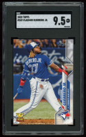 Vladimir Guerrero Jr. 2020 Topps #182 CUP (SGC 9.5) at PristineAuction.com