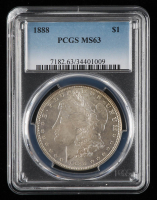 1888 Morgan Silver Dollar (PCGS MS63) at PristineAuction.com