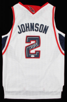 Joe Johnson Signed Hawks Jersey (JSA COA) at PristineAuction.com