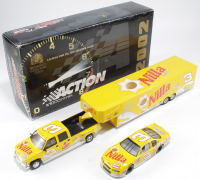 Dale Earnhardt Jr. Signed LE #3 Nilla Wafers / Nutter Butter 2002 Chevrolet Monte Carlo 1:24 Scale Die Cast Show Trailer & Car Collection (JSA COA) at PristineAuction.com