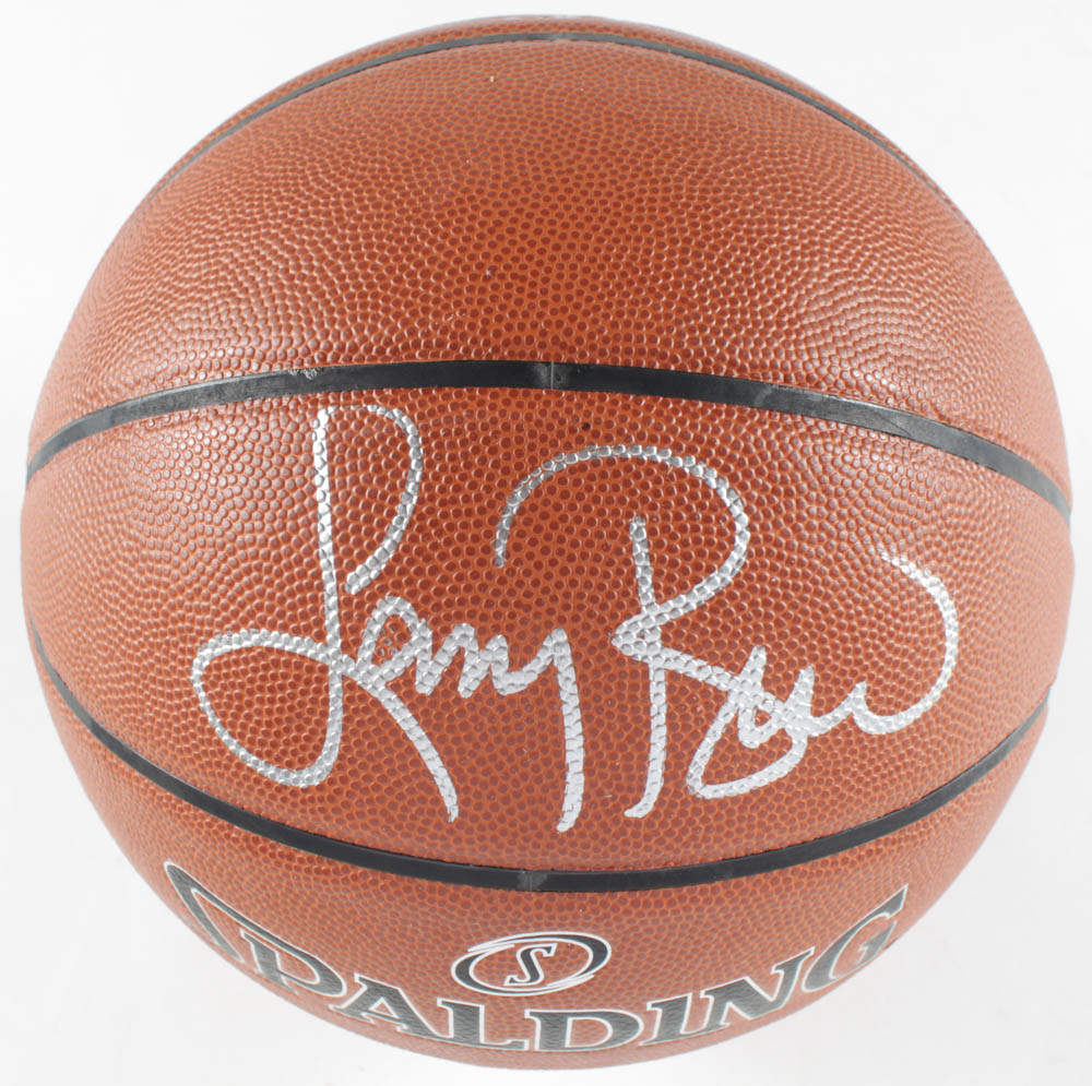 Larry Bird Signed Basketball (PSA COA) at PristineAuction.com