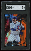 Anthony Rizzo 2018 Topps Fire Orange #72 (SGC 9) at PristineAuction.com